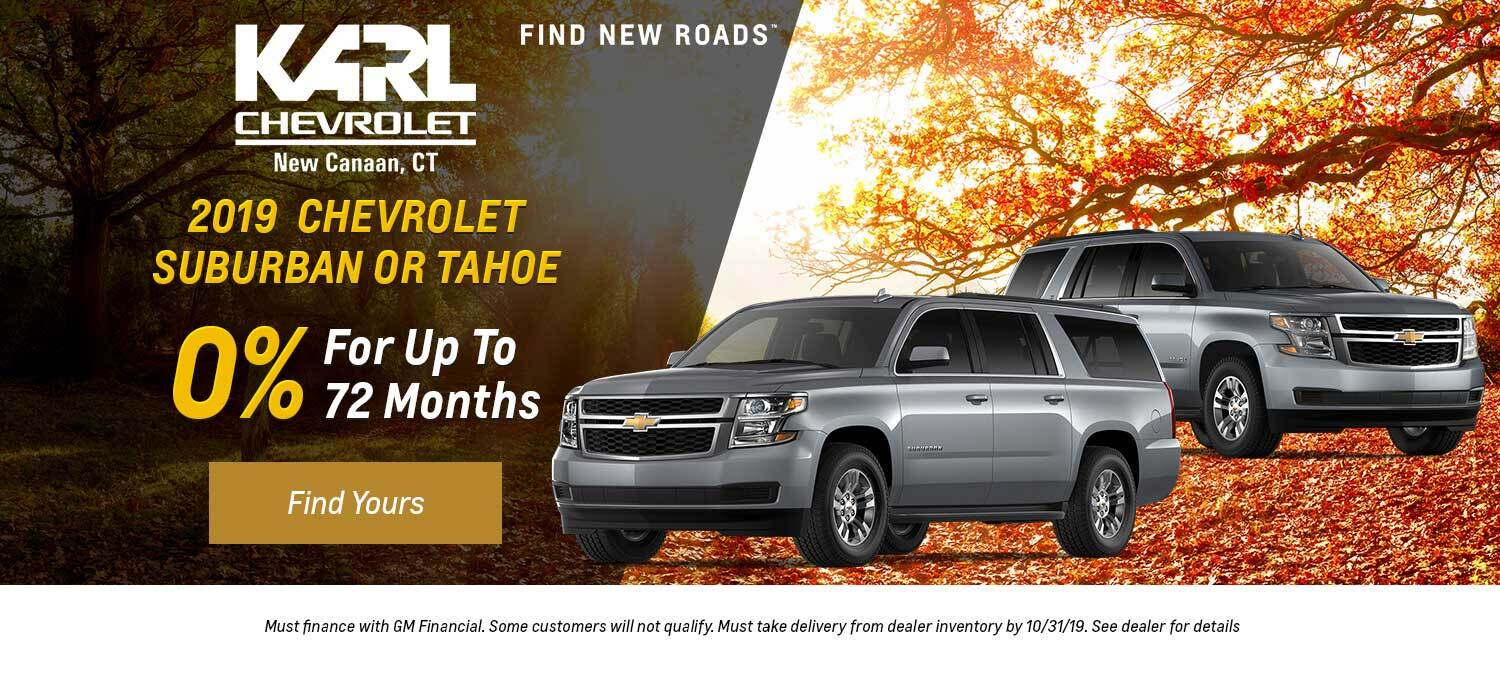 2019 Chevrolet Suburban or Tahoe