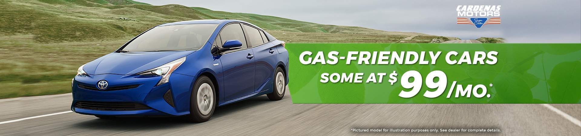 Gas Friendly Cars