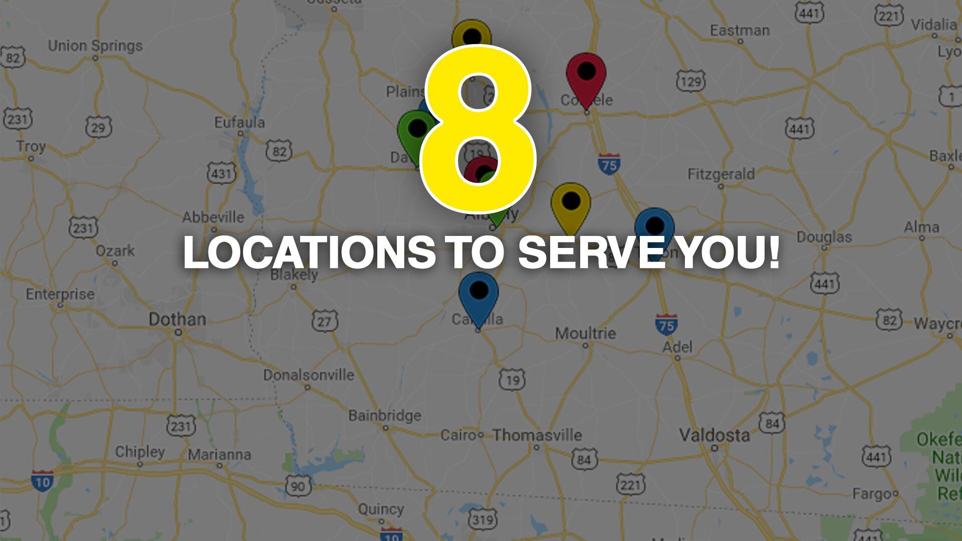 Eight Locations!