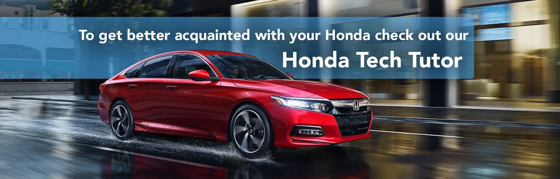 Honda Tech Tutor