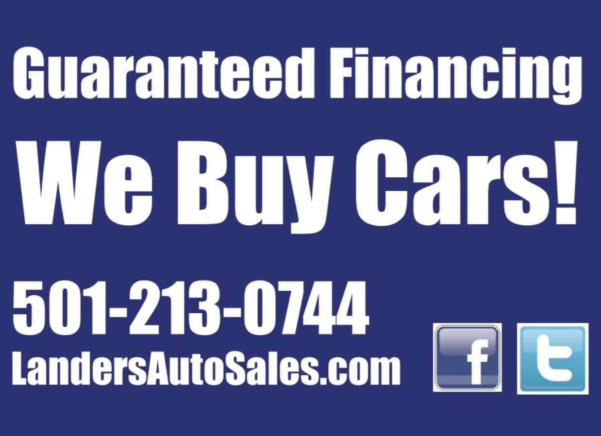 Used Car Dealership Bryant AR | Landers Auto Sales