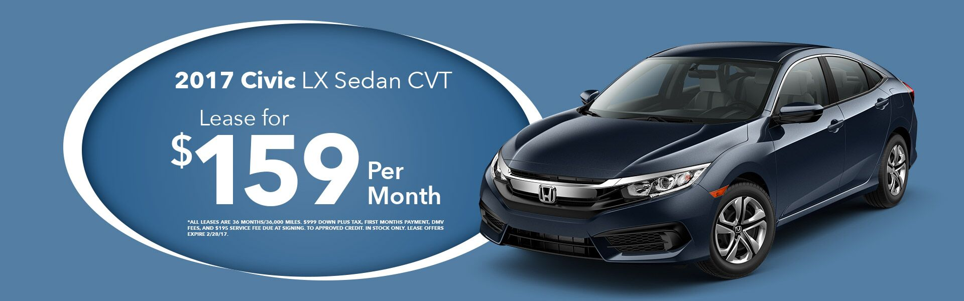 Civic Lease Special!