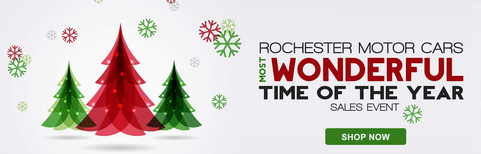 Rochester Motor Cars Most Wonderful Time of the Year Event