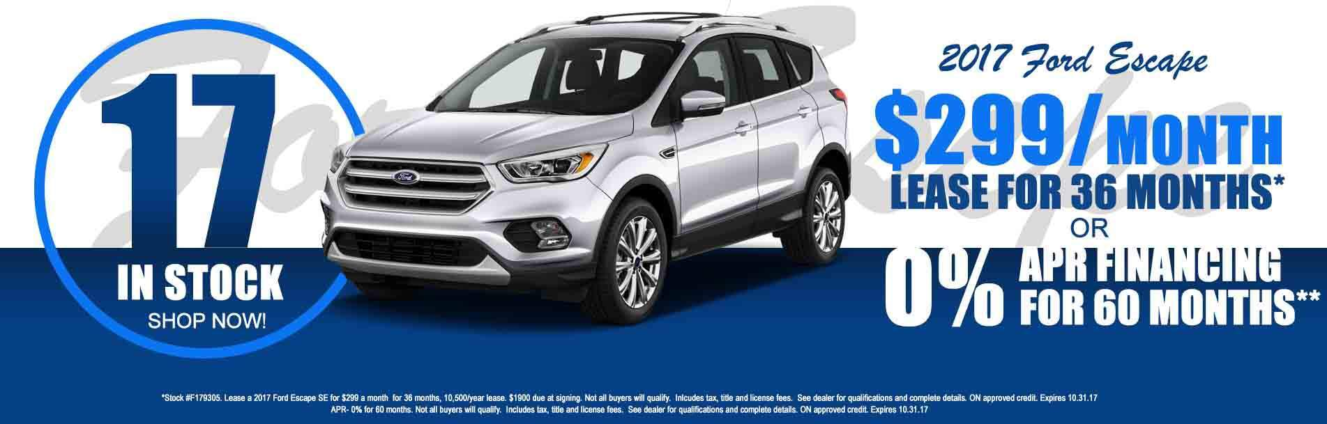 2017 Ford Escape at Rochester Ford  sc 1 th 127 & Ford Dealership Rochester MN Used Cars Rochester Ford markmcfarlin.com