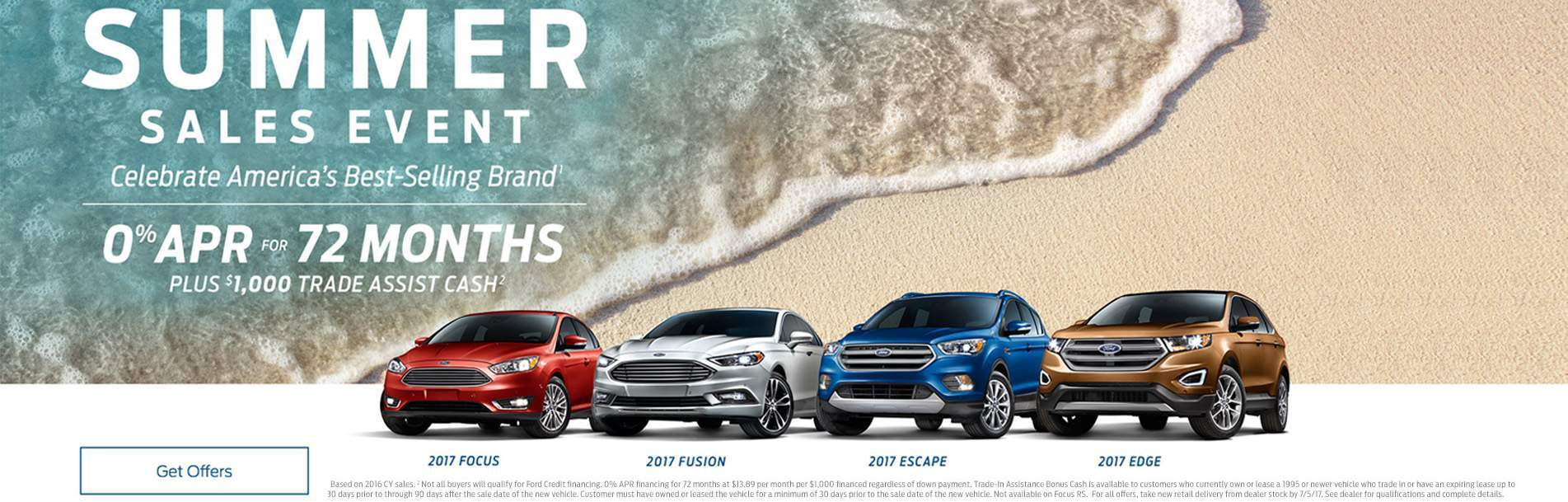 Ford Best Summer Sales Event