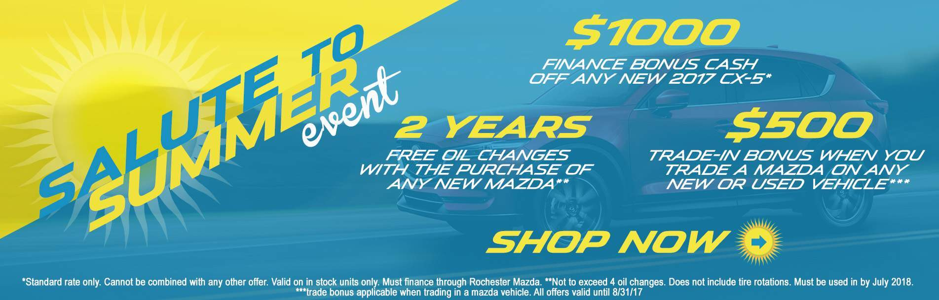 Rochester Mazda Salute to Summer Event