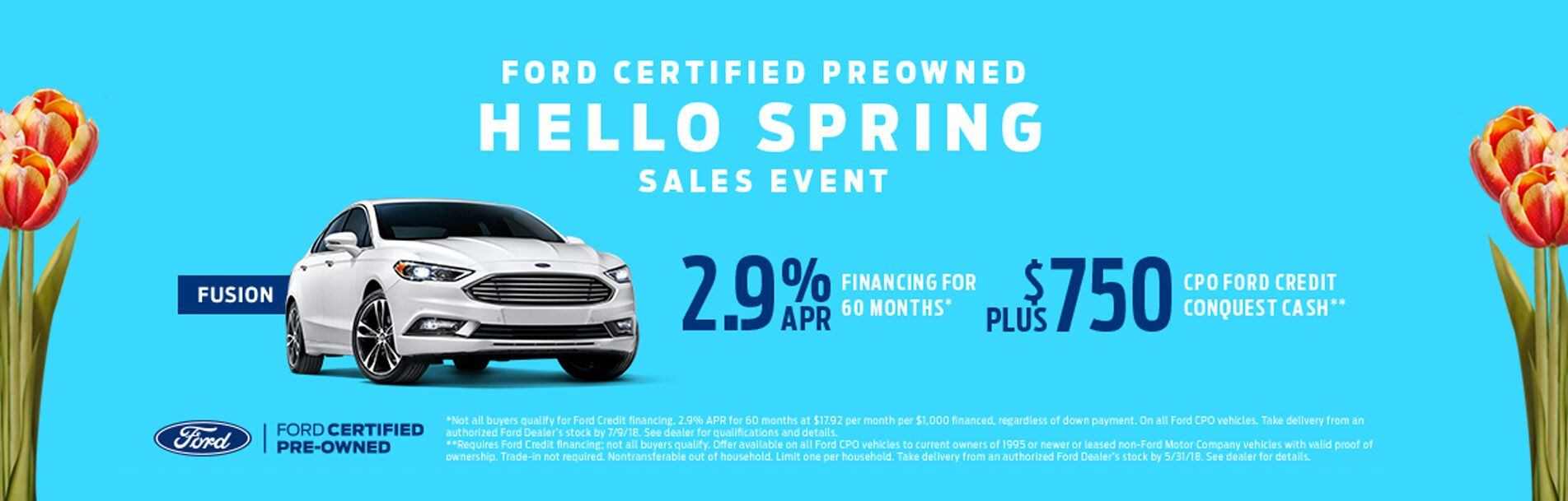Certified preowned Fords at Rochester Ford