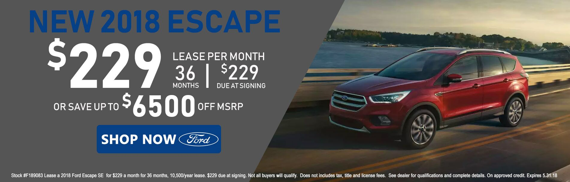 2018 Ford Escape at Rochester Ford