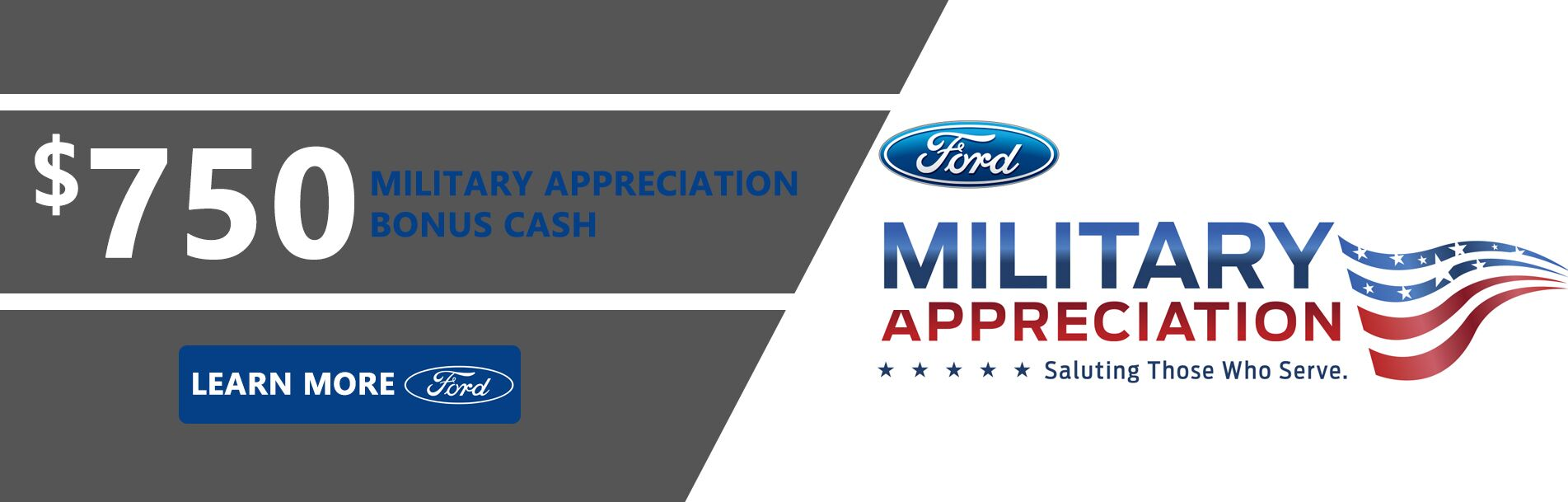 Ford Military Appreciation Bonus Cash