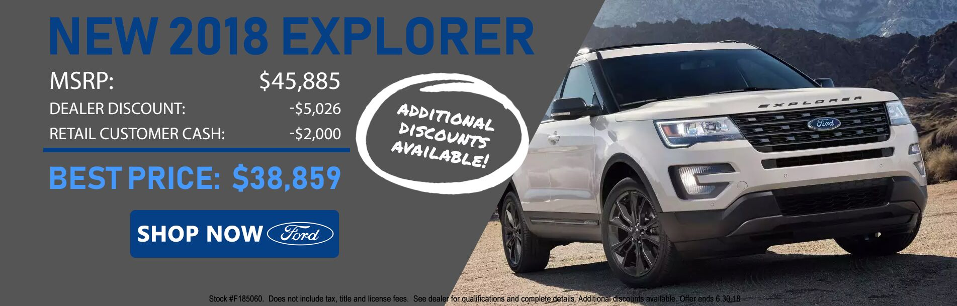 2018 Ford Explorer at Rochester Ford