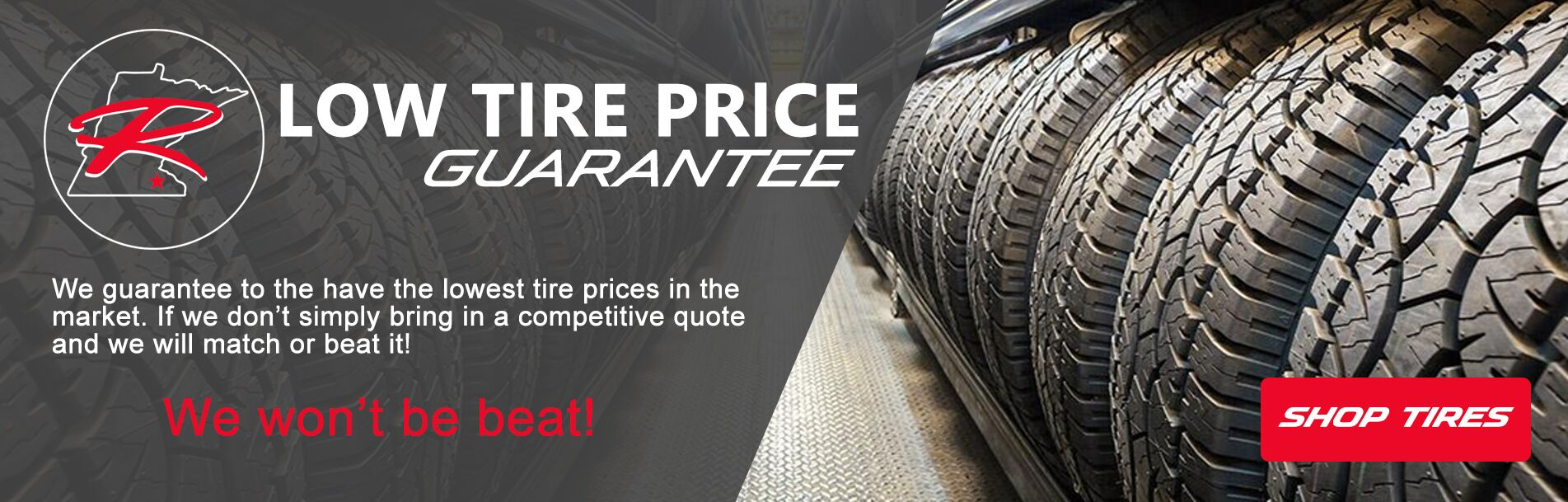 Low Tire Price Guarantee at Rochester Mazda