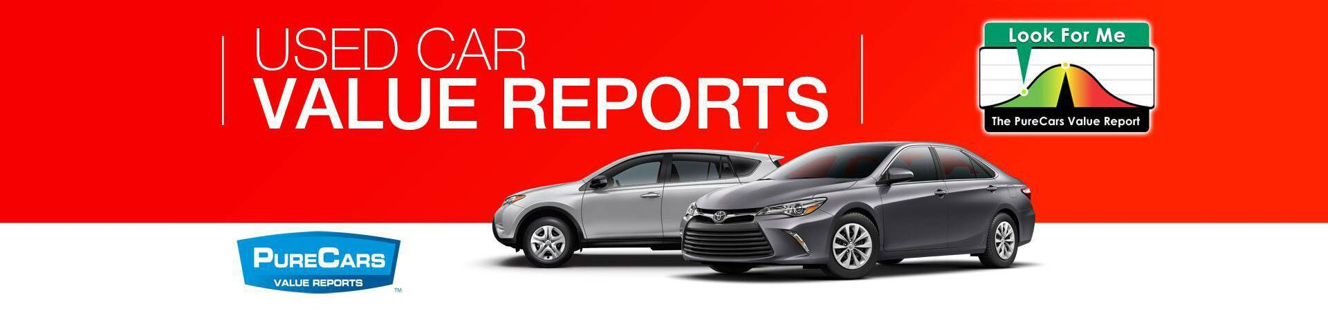 Pure Cars Used Car Value Reports