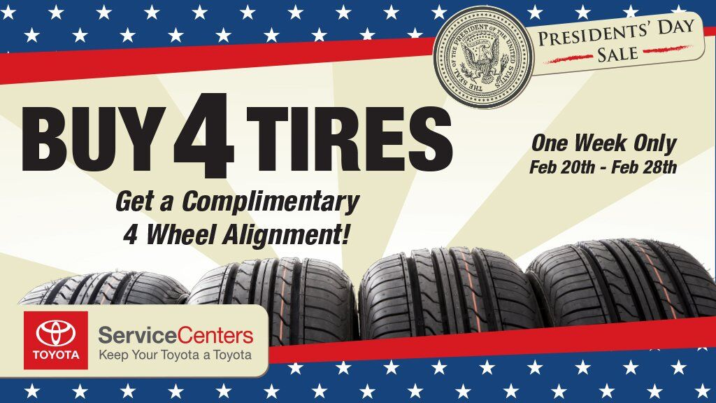 presidents day tire sale
