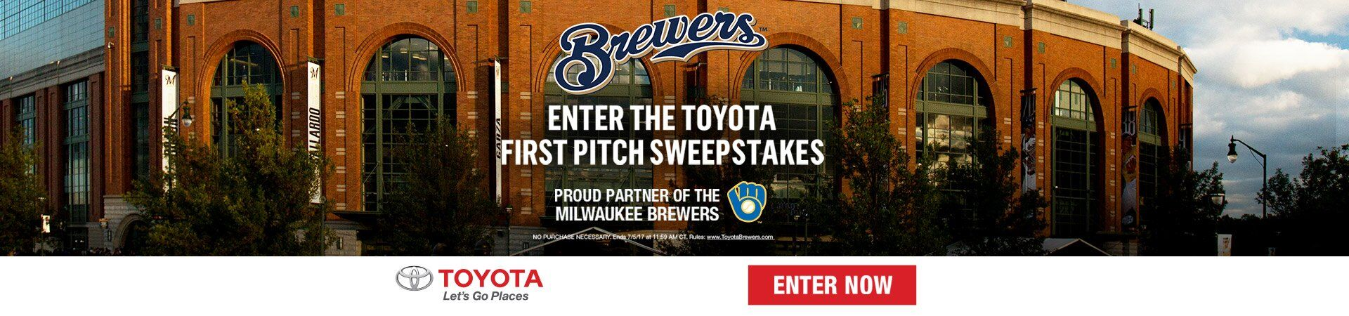 Your Chance To Throw The First Pitch At A Brewers Game