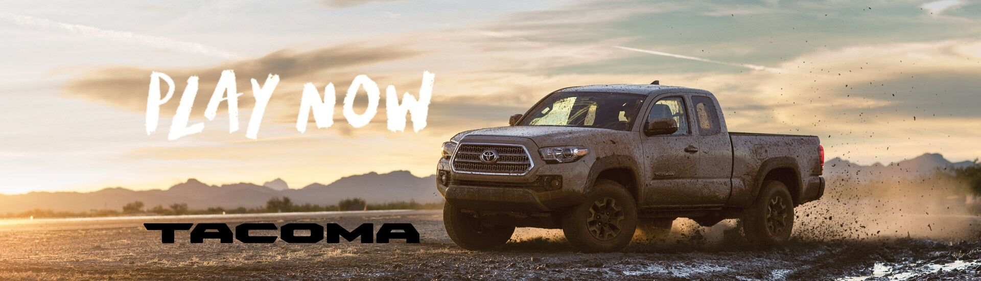 Toyota Tacoma-Play Now at Ackerman Toyota