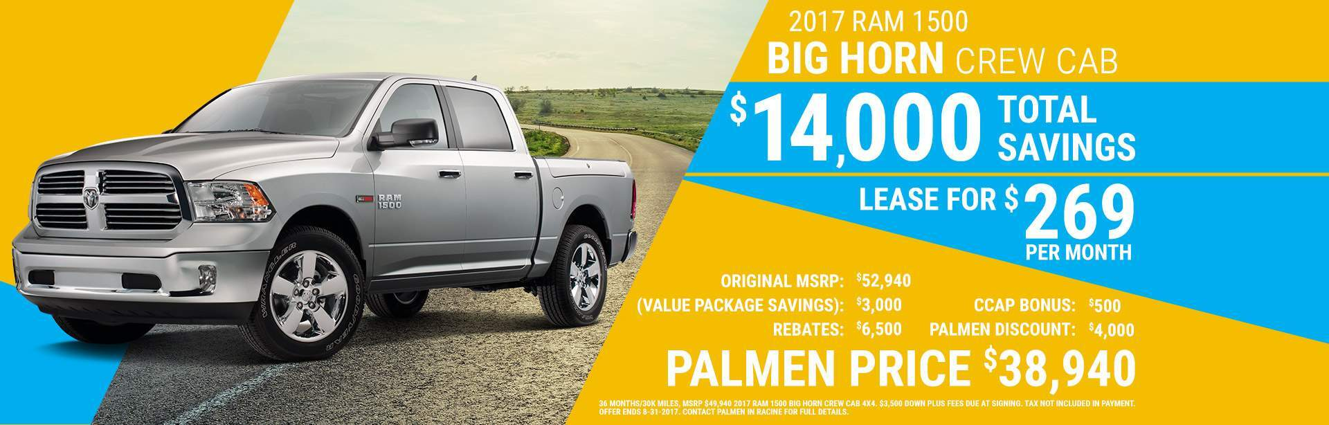 Palmen dodge chrysler jeep ram of racine racine wi autos for Palmen motors dodge chrysler jeep ram