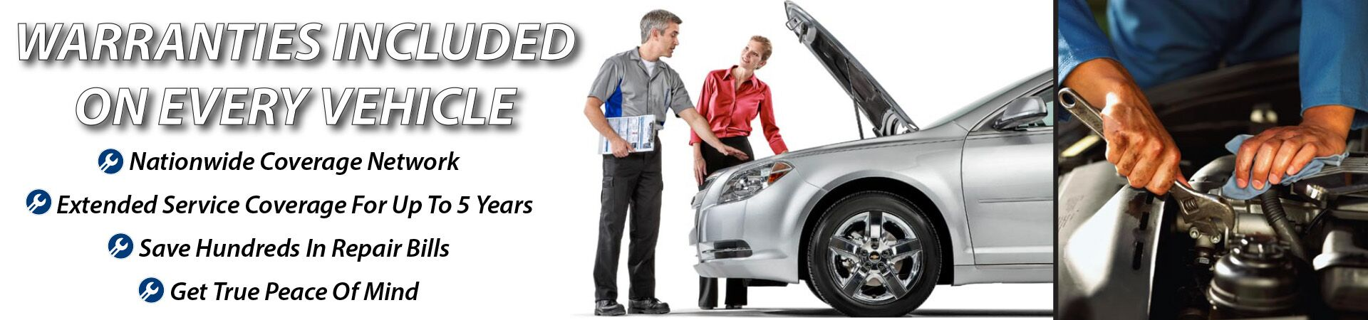Warranties Included on Every Vehicle in  Virginia Beach, VA