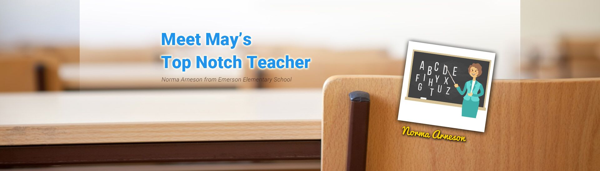 May 2018 Top Teacher