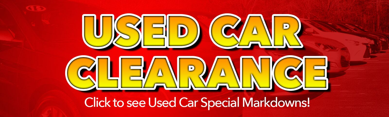 Used Car Clearance