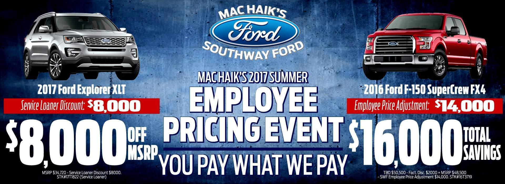 Mac Haik Victoria Tx >> Ford Dealership San Antonio TX Used Cars Mac Haik Southway ...
