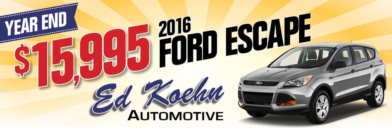 Ed Koehn Ford >> Ford Dealership Greenville MI Used Cars Ed Koehn Ford Lincoln