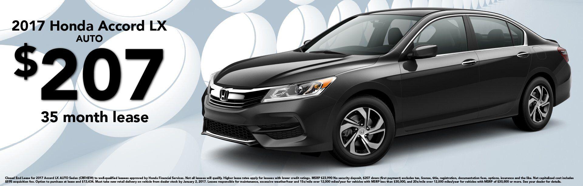 Honda Accord Lease