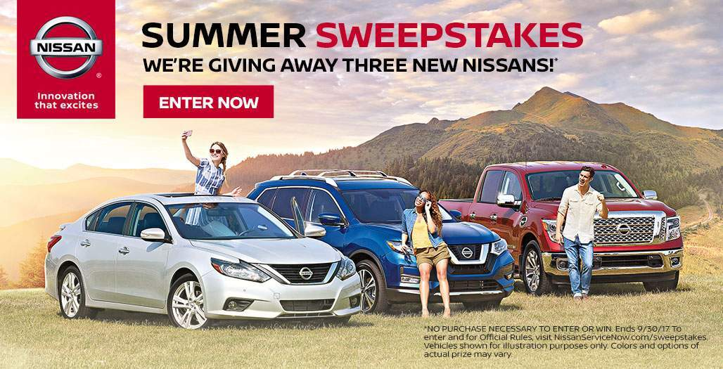 Nissan Summer Sweepstakes
