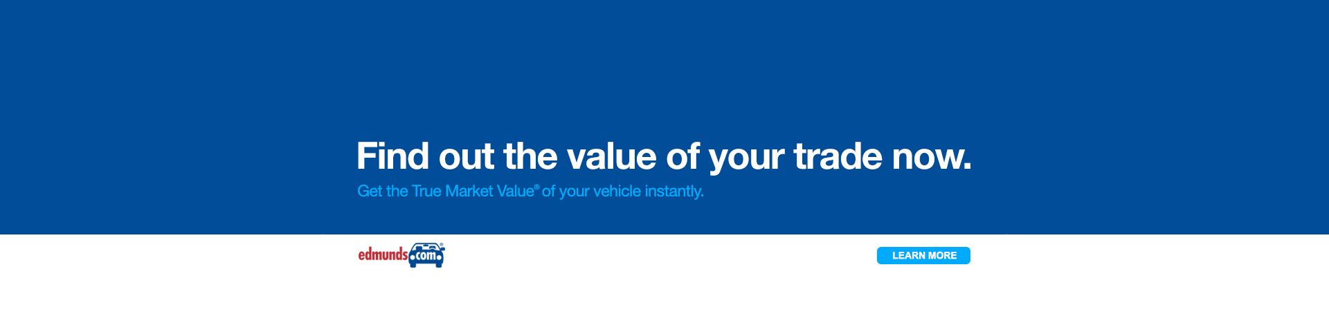 Value Your Vehicle for Trade-In