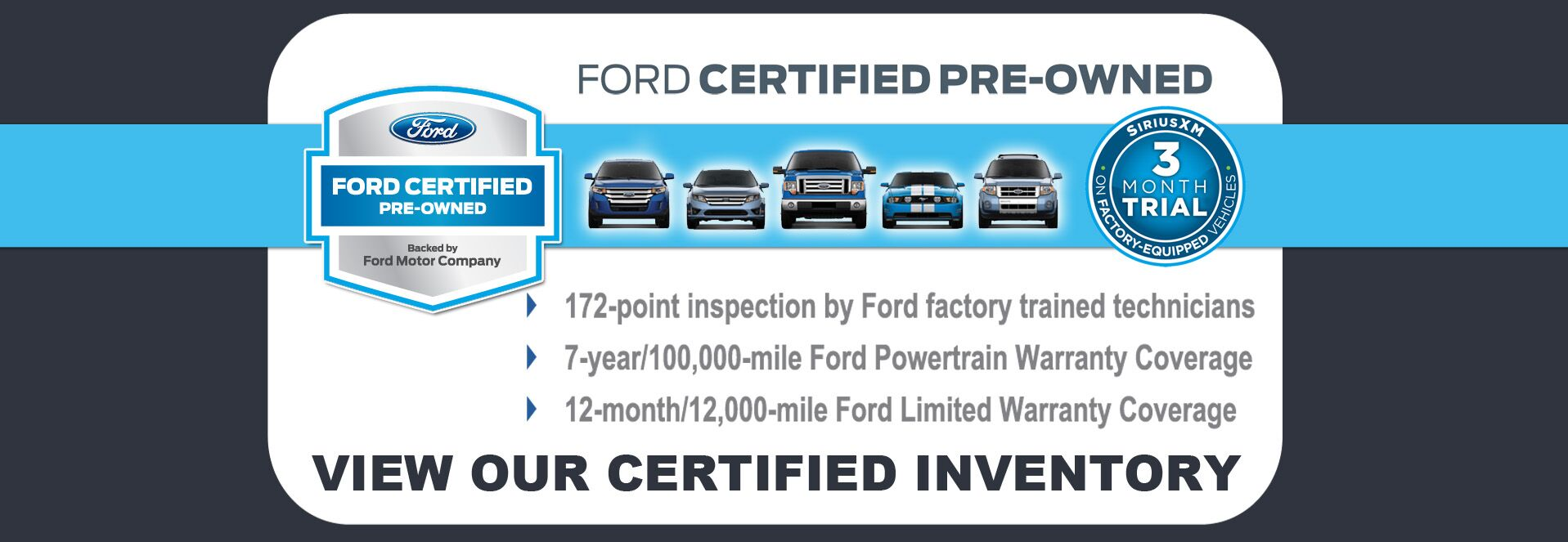 Certified Pre-Owned at Dahl Ford