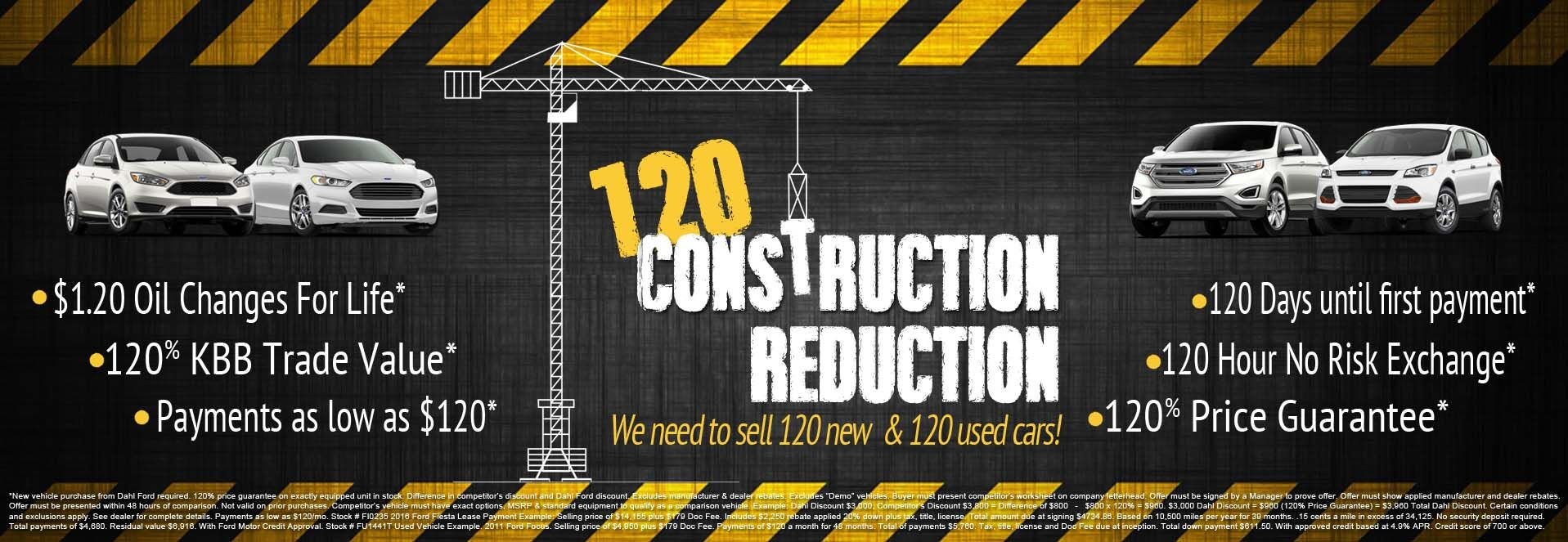 120 Construction Reduction