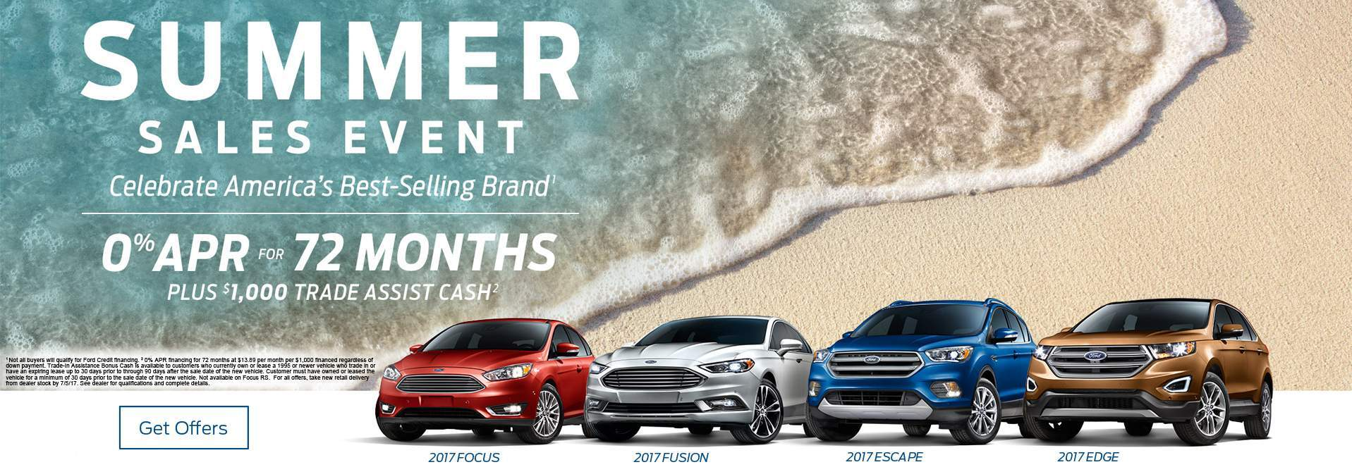 2017 Summer Sales Event
