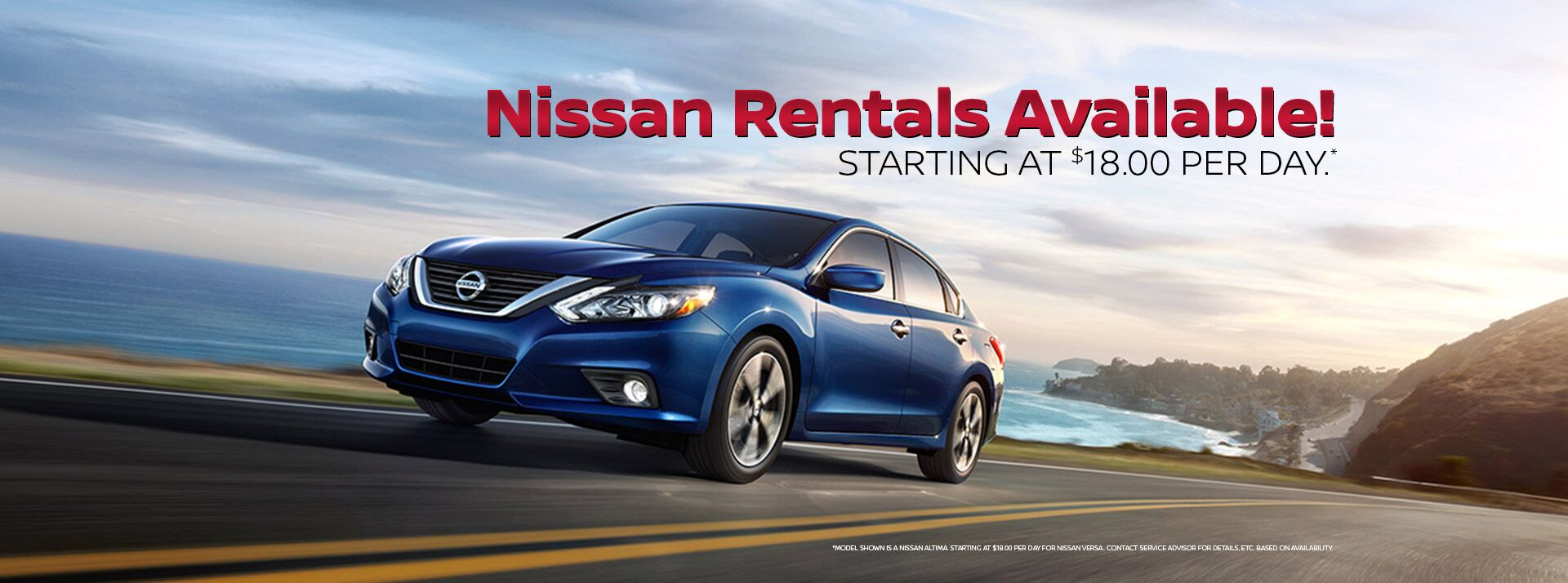 Nissan Rentals Available