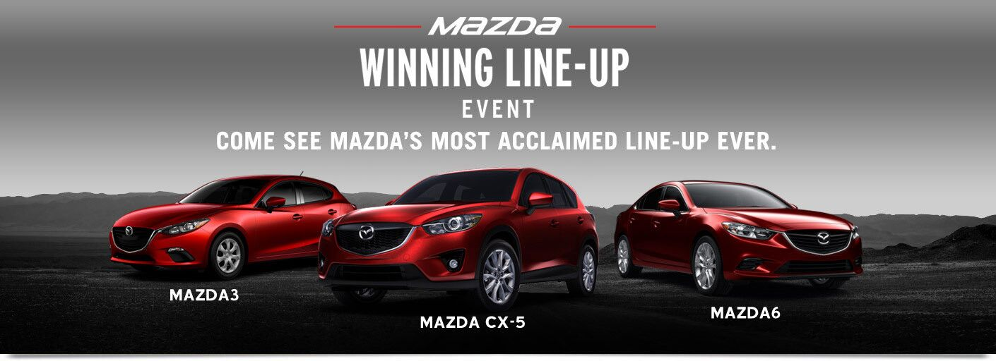 Mazda Winning Line-Up Event