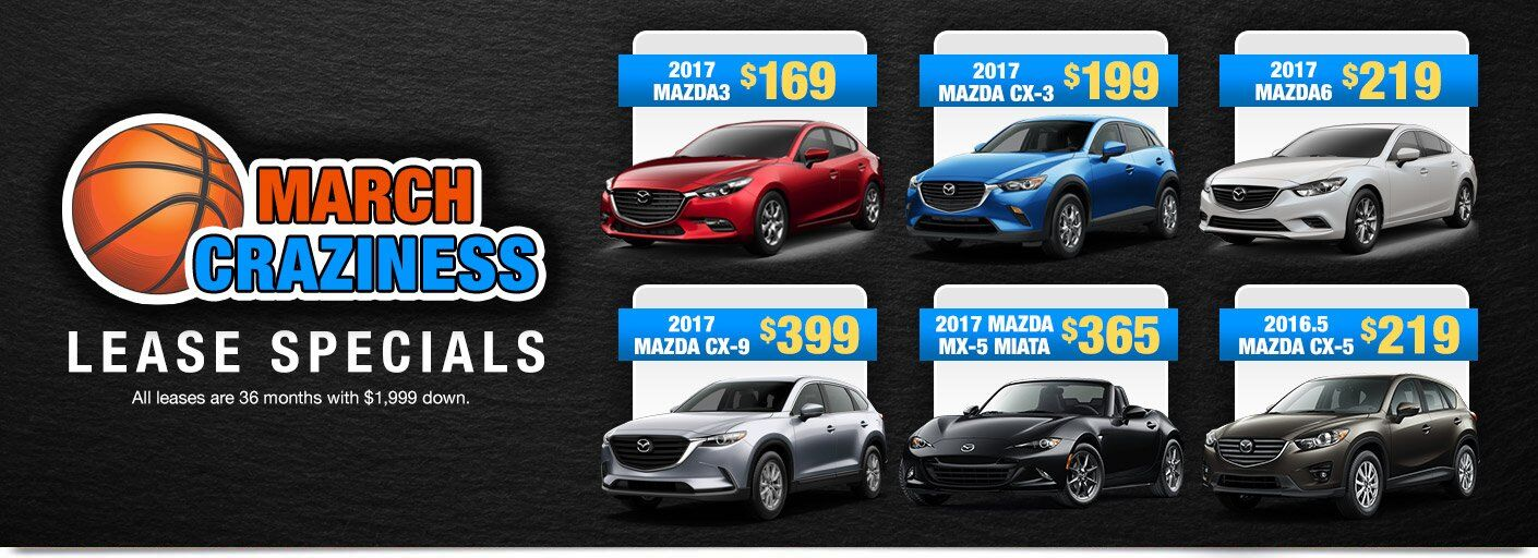 March Craziness Lease Specials