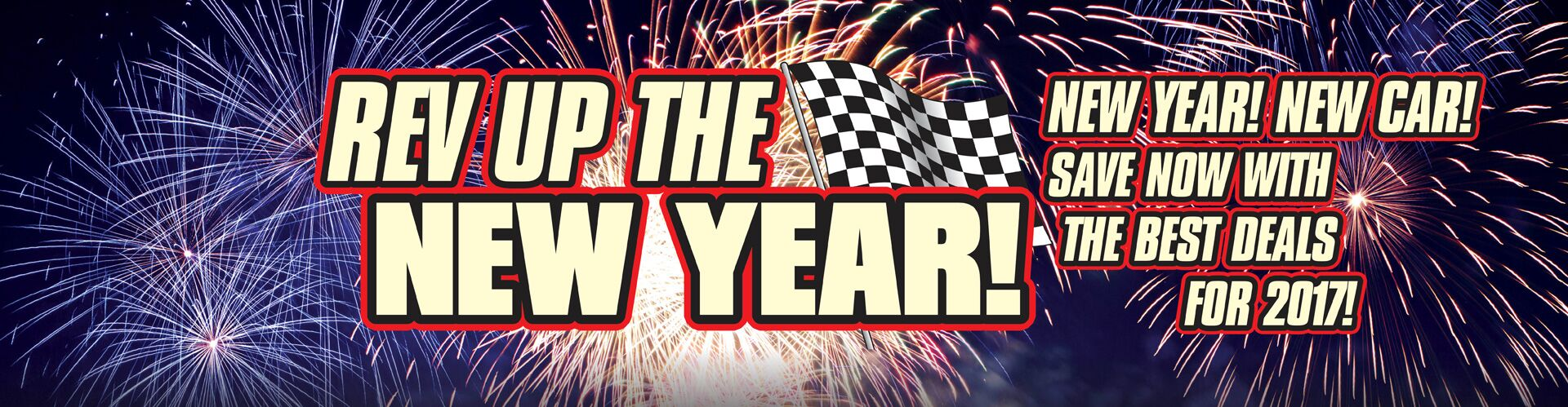 Rev-Up The New Year Sale!