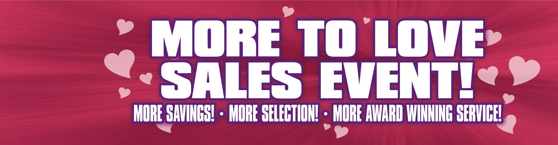More To Love Sales Event!
