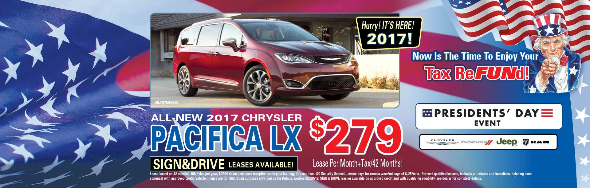 2017 Pacifica LX