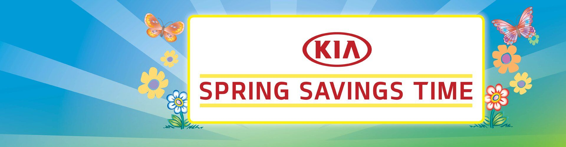 KIA Spring Savings Time!