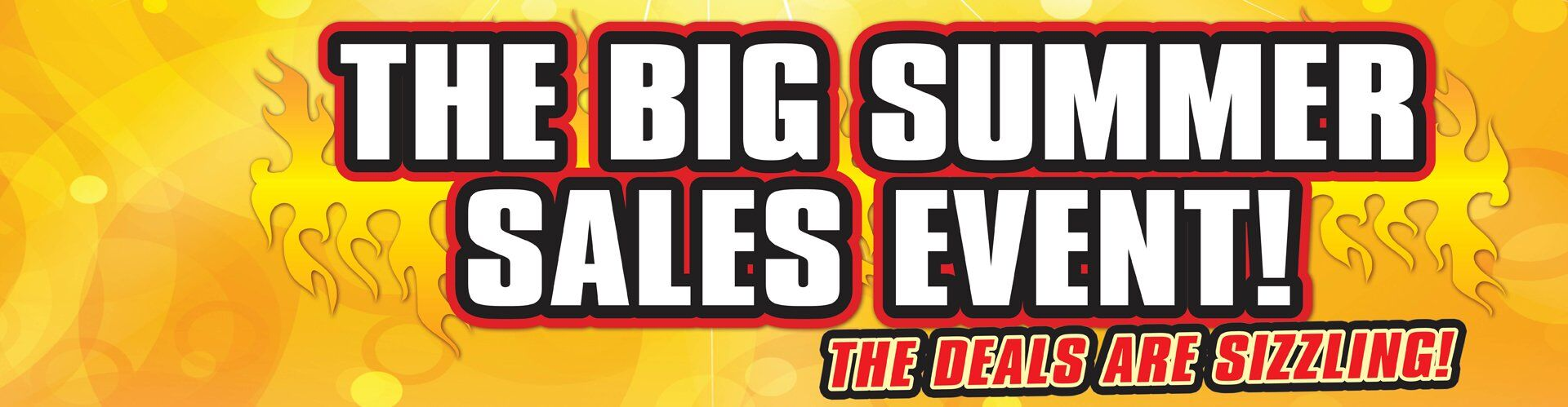 The BIG Summer Sales Event!