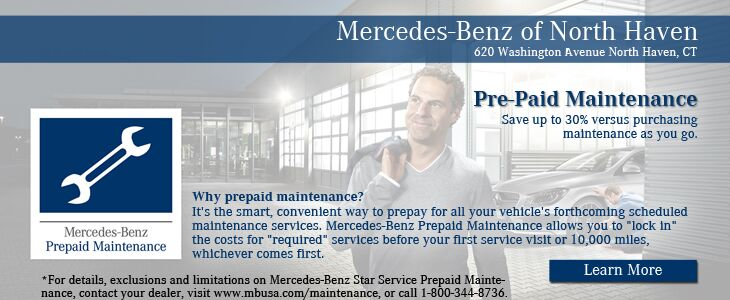 Car coupons north haven ct mercedes benz of north haven for Mercedes benz prepaid maintenance