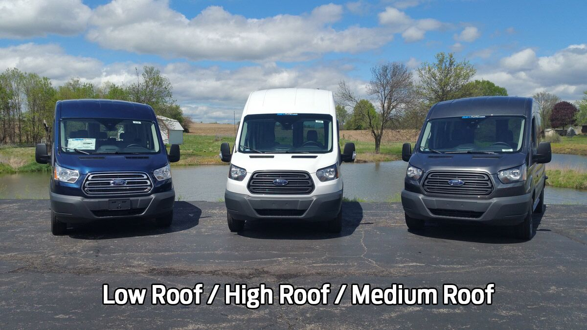 Low Roof / High Roof / Medium Roof