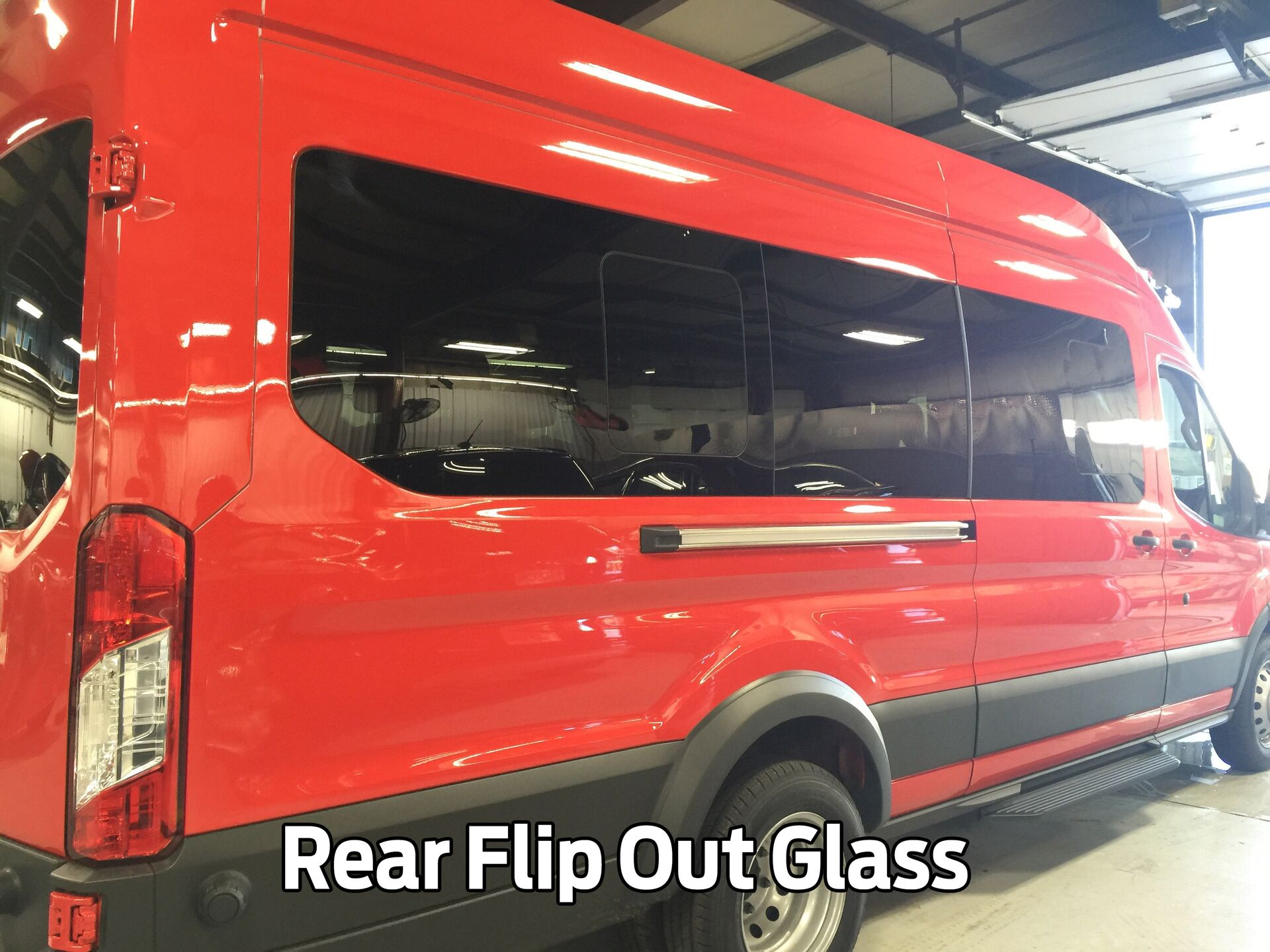 Rear Flip Out Glass