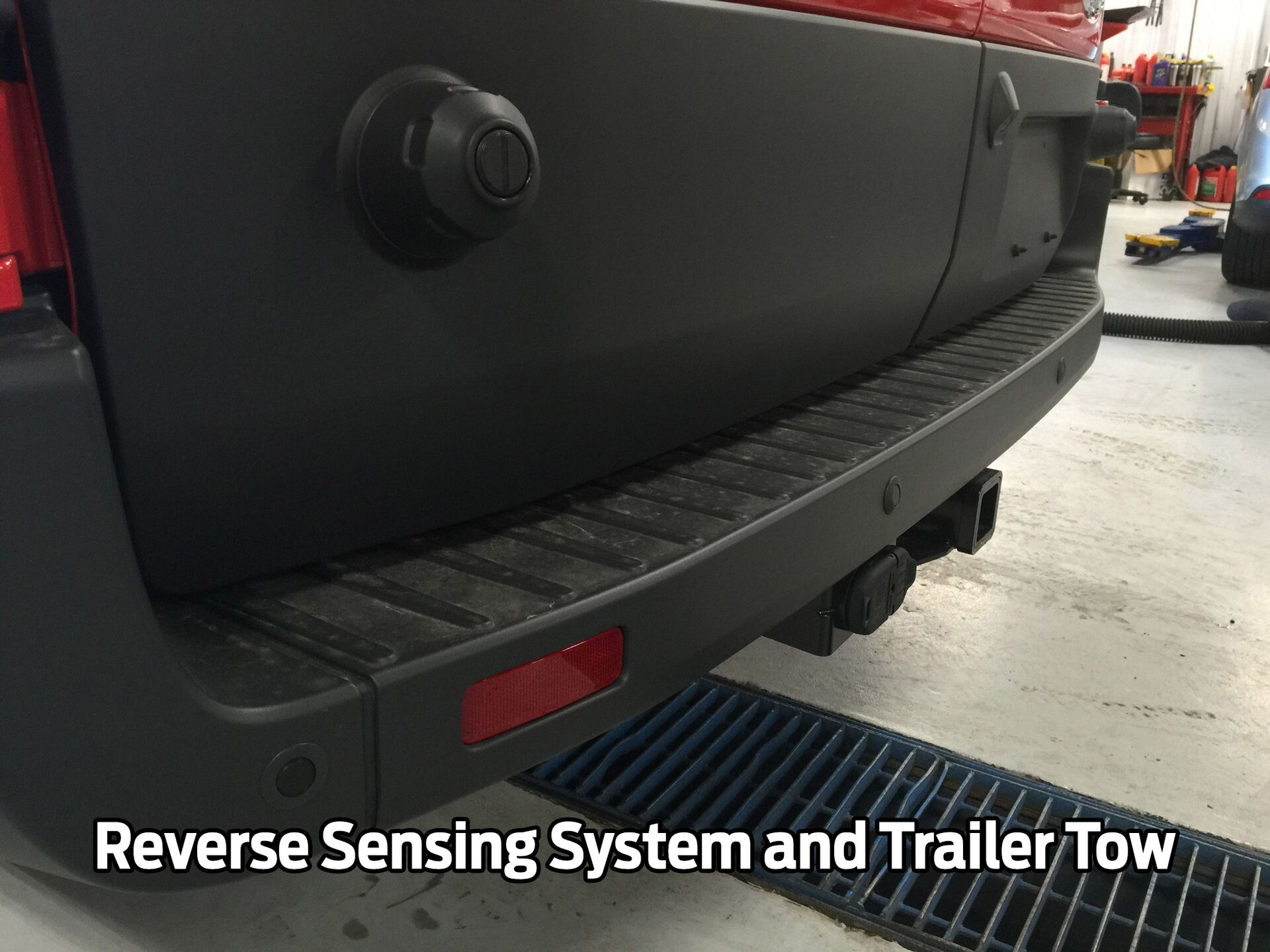 Reverse Sensing System and Trailer Tow