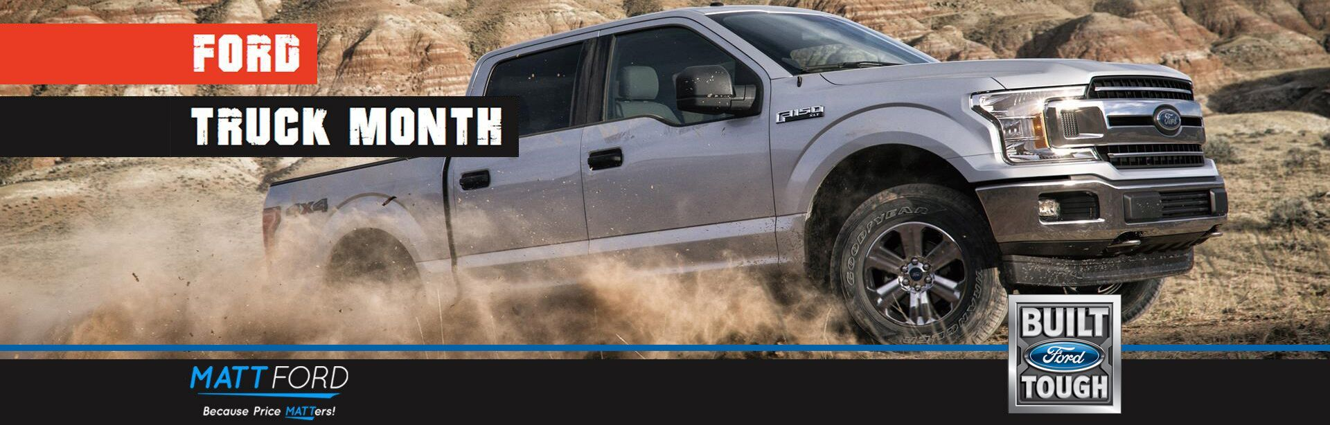 Ford Truck Month at Matt Ford