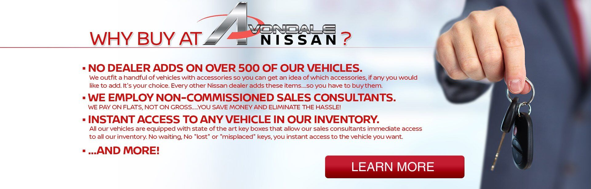 Why Buy At Avondale Nissan?