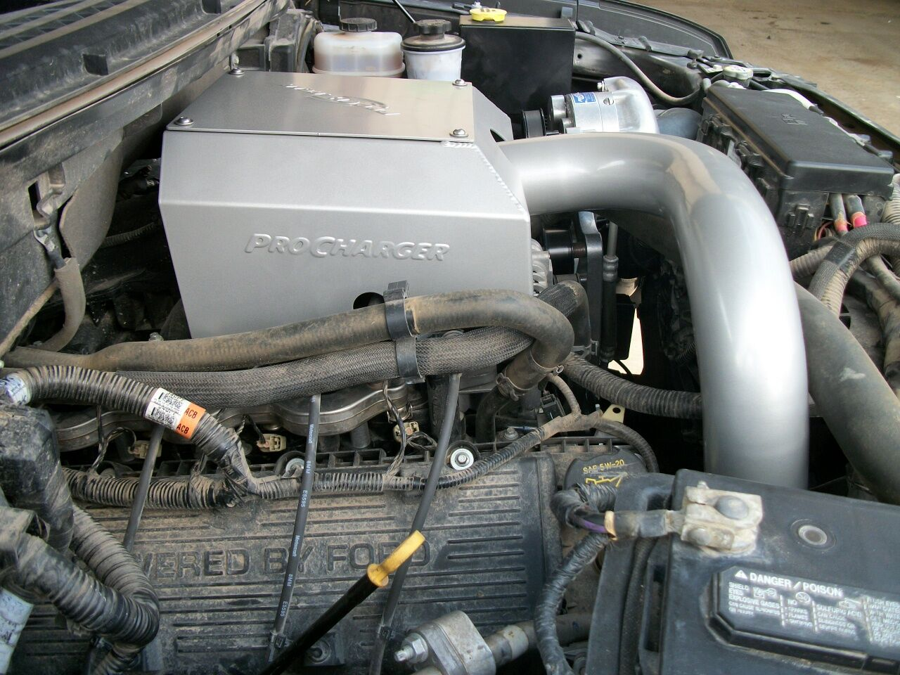 Pro charger super charger intake