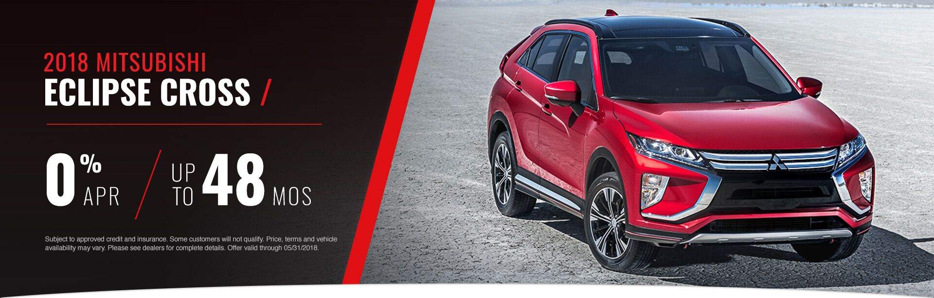 2018 Eclipse Cross May Offer