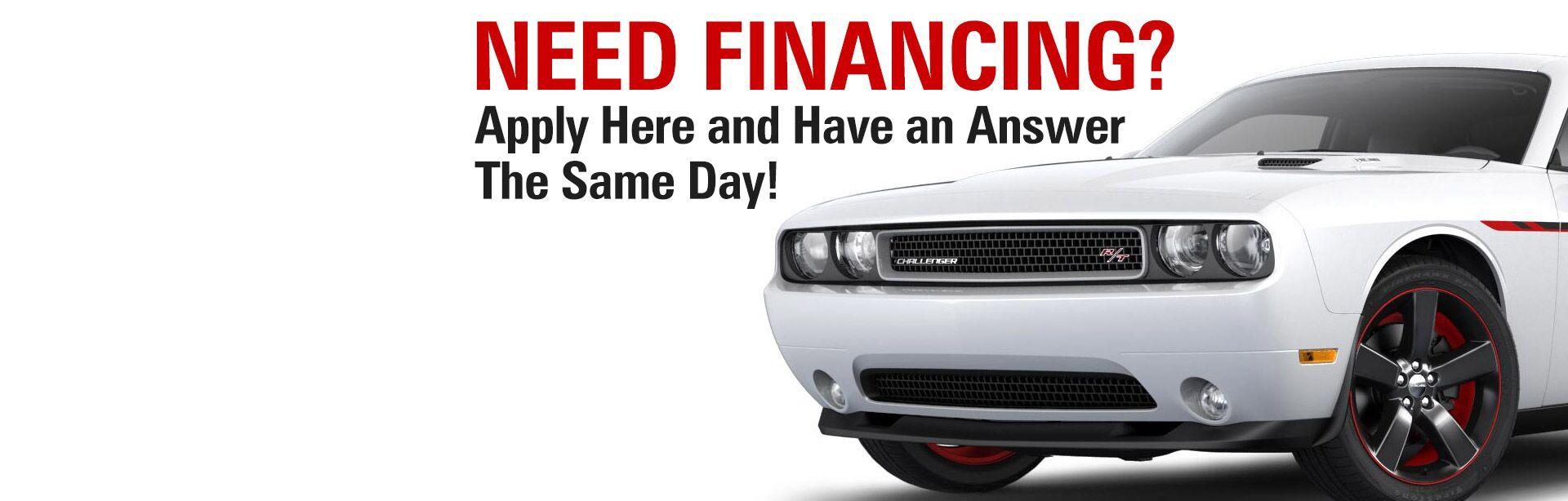 Financing Fx Caprara Chrysler