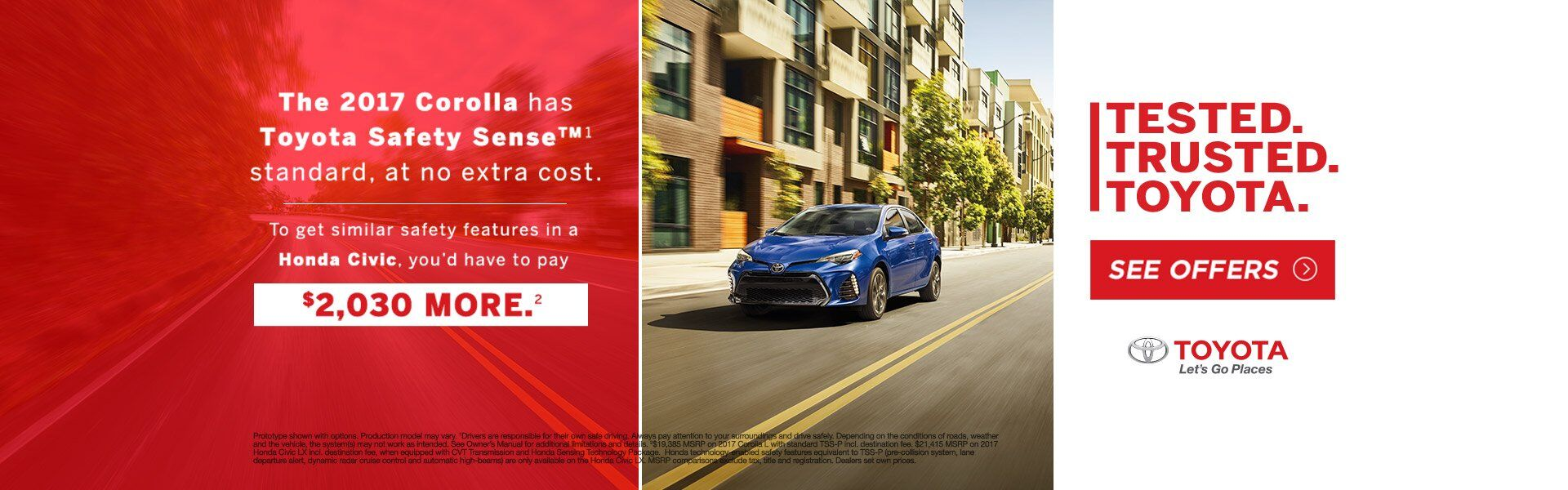 NYR - Tested Trusted 2017 Toyota Corolla
