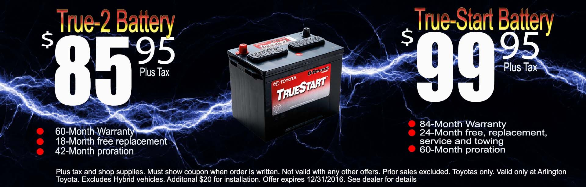 TRU START BATTERY SALE